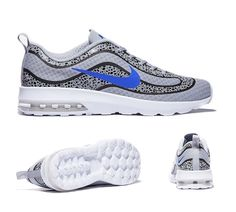 reputable site cc0f1 10bf7 Nike Air Max Mercurial 98 Wolf Grey Blue Size 9.5 New without Box 818675-004