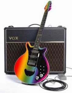 rainbow colored Red Special