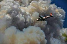 #KingFire @Pollock Pines -El Dorado Co, w/Douglas DC 7B aircraft...9.16.14 ~