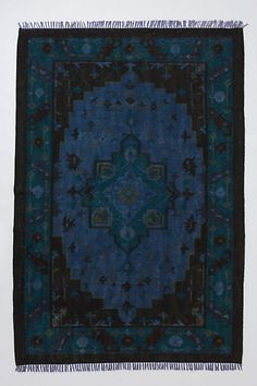 For the study/library.  Marmara Rug #anthropologie