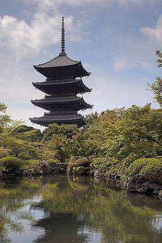 To-ji temple, Kyoto, Japan 東寺