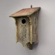 Griffith Creek Designs 1420 Heart & Eagle Victorian Owl House