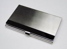 Business Name Card Holder Stainless Steel Case - Polish Edge Strip Tapp Collections http://www.amazon.com/dp/B00F1XQXZ2/ref=cm_sw_r_pi_dp_-w6Fub1ZN9HT1