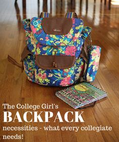 Wondering what you need in your college backpack? See what's in my backpack + tips and tricks for back to school!Wondering what you need in your college backpack? See what's in my backpack + tips and tricks for back to school! School Backpack Essentials, College Essentials, College Hacks, College Freshman Tips, College Years, College Girls, College Life, College School, What's In My Backpack