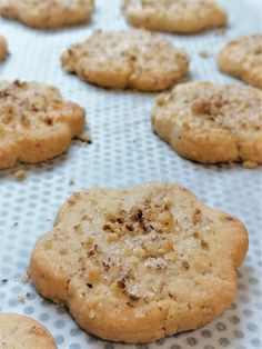 Cookies, Food, Crack Crackers, Eten, Cookie Recipes, Meals, Biscotti, Fortune Cookie, Cakes