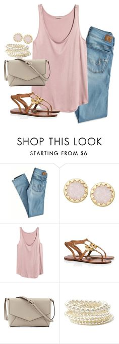 """""""life ain't always beautiful but it's a beautiful ride"""" by preppy-classy ❤ liked on Polyvore featuring American Eagle Outfitters, House of Harlow 1960, H&M, Tory Burch, Kate Spade and Forever 21"""