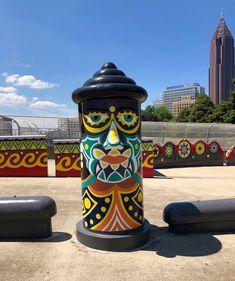 In Atlanta, Georgia's Folk Art Park: A Homage to Outsider Visionary Artist St. EOM's Pasaquan Homestead Visionary Art, Atlanta Georgia, Homestead, Folk Art, The Outsiders, Park, Artist, Image, Popular Art