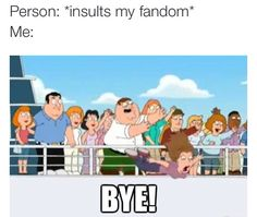 Don't mess with my fandom!