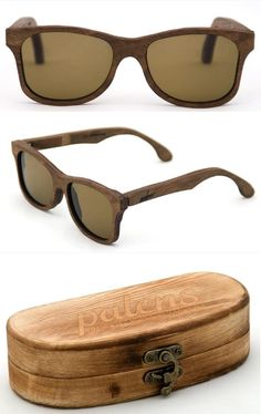 <3 Wood Sunglasses <3  I love them! by Palens