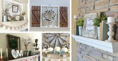28 Farmhouse Mantel Decor Ideas to Make Your Home Unforgettable for Every Season