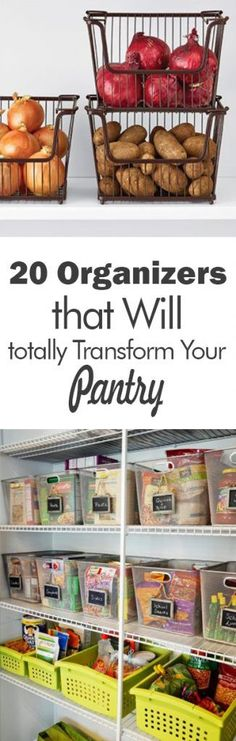 20 Organizers that Will Totally Transform Your Pantry - 101 Days of Organization