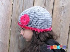 Crochet Hat Pattern PDF Crochet Hat For Teen by HowDoYouDoIt