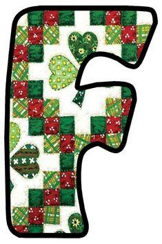 Monogram Alphabet, Symbols, Quilts, Day, Floral, Crafts, Ireland, March, Craft Ideas