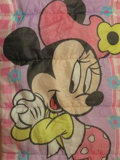 Vintage Minnie Mouse sleeping bag