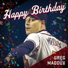 April is an important day in Braves Country! Braves Baseball, Baseball Cards, Greg Maddux, Atlanta Braves, Mlb, Country, Rural Area, Country Music