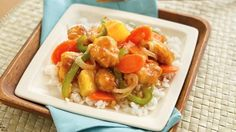 Dinner's ready in 30 minutes! Try chicken breasts stir-fried and partnered with a tangy sweet-and-sour sauce.