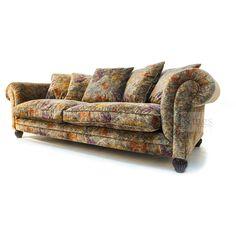 #Tetrad #Upholstery Elgar sofa in Multi Deep Velvet Cover http://www.kingsinteriors.co.uk/