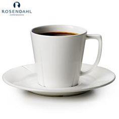 Rosendahl Grand Cru kaffekopp med skål