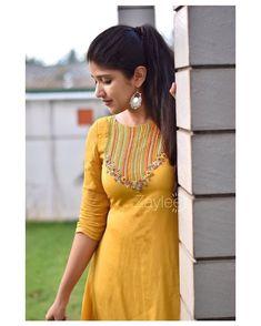 Churidhar Designs, Kurti