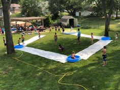 Slip n slide kick ball