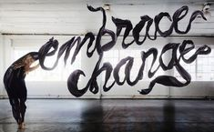 Typography & The Human Body Come Together To Create Gorgeous Photographs - DesignTAXI.com
