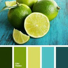 Ideas For Kitchen Colors Palette Green Green Colour Palette, Color Palate, Green Colors, Colours, Bright Green, Color Blue, Blue Green, Yellow Turquoise, Orange Color Palettes