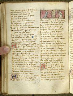 Le pèlerinage de la vie humaine, M.1038 fol. 58v - Images from Medieval and Renaissance Manuscripts - The Morgan Library & Museum