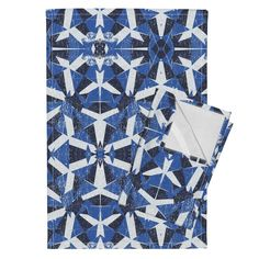 Orpington Tea Towels featuring Halo tribal by susiprint   Roostery Home Decor