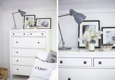 cómoda ikea blanca   white ikea's chest of drawers