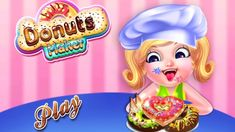 Donut Games Dessert Maker - Cook And Play Doughnuts Games For Kids Learning Colors For Kids, Kids Learning, Donut Games, Cooking Games For Kids, Dessert Makers, Coloring For Kids, News Games, Doughnuts, Childcare