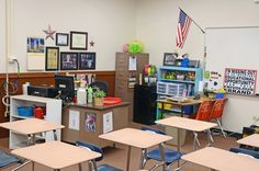 The most organized and colorful 7th and 8th grade math classroom ever!