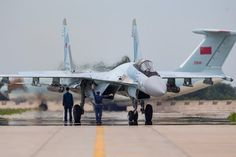 Russian Air Force Sukhoi Su-35S at Aviadarts competition 2017 in China