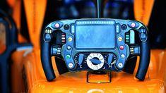 McLaren MCL33 steering wheel at Australian Grand Prix, Melbourne - Saturday 24 March 2018