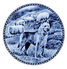 Laekenois /Lekven Design Dog Plate 19.5 cm /7.61 inches Made in Denmark NEW with certificate of origin PLATE -7366 *** Visit the image link more details. (This is an affiliate link and I receive a commission for the sales)