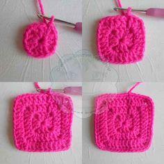 3 Granny Square Birdie Slippers Guest Post Joanita Theron Creative Crochet Workshop