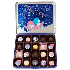 【2016.01.07 - 02.09】★St. Valentine's Day Chocolate ★1,758円(税込), 20個, 15.6x18.5x2.3cm ★ #SanrioLicenseJapan #Goncharoff ★ #LittleTwinStars