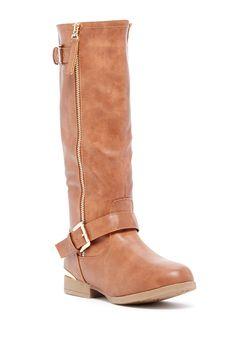 Land Tall Zip Boot