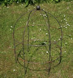 Lobster Pot / Bird Cage Plant Support