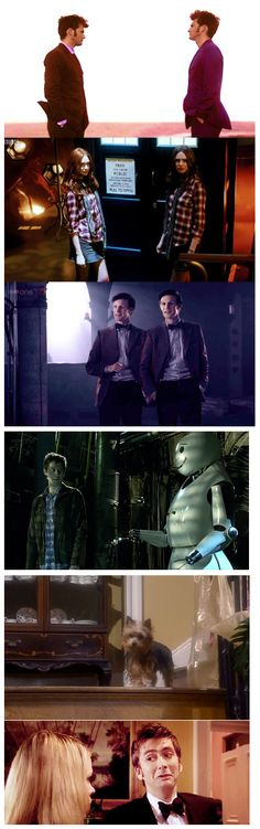 Seeing double on Doctor Who - Rory's was hilarious. Just saying. I was dying at that part. And then crying the rest.