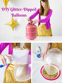 45 Awesome DIY Balloon Decor Ideas for your party! These balloon decorations will make any event festive. Glitter Birthday, Unicorn Birthday, Birthday Fun, Princess Birthday, Unicorn Party, Diy Wedding Decorations, Balloon Decorations, Birthday Party Decorations, I Love Glitter Font