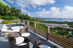 spectacular brand new 2-bedroom villa perfectly located on the hillsides of St Jean #StBarth