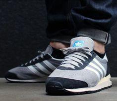 adidas Originals Marathon 85: Aluminium/Carbon/Neo White