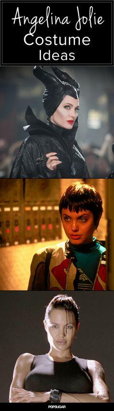 Channel Angelina Jolie's Best Onscreen Looks For Halloween