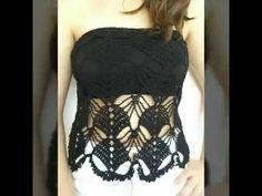Πλεκτή μπλούζα - στράπλες! Μέρος 1ο! Art of crochet - by Airis