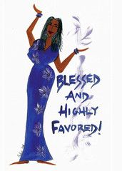 I Know From Whom My Blessings Flow Magnet by Cidne Wallace 4f5d8cecd