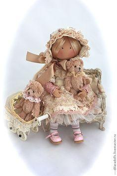 Человечки ручной работы. Ярмарка Мастеров - ручная работа текстильная кукла  MORY`. Handmade.