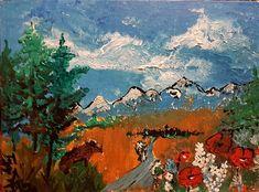 Michal Tejgi - akrylové barvy / 40 x 30 cm / 1850 Kč Online Galerie, Gallery, Painting, Painting Art, Paintings, Draw