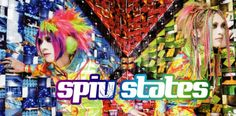 "SPIV STATES, In late 2009, Jun and Iori, both members of the band once Kisaki Phantasmagoria, started a new project together. With VISP STATES, they were presented with a completely new look and very colorful as well as a sound called ""visual rock in the future."" Members: Jun & Iori."