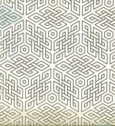 Geometric Patterns & Borders by David Wade