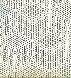 Geometric Patterns & Borders by David Wade